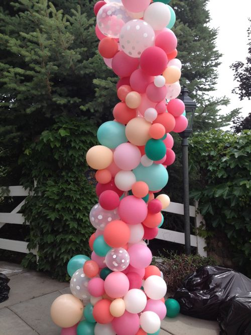 how to make a balloon arch step by step