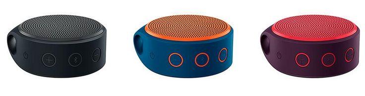 Mini Caixa de Som Logitech Wireless X100 Bluetooth - 3 Cores Disponíveis << R$ 8999 >>
