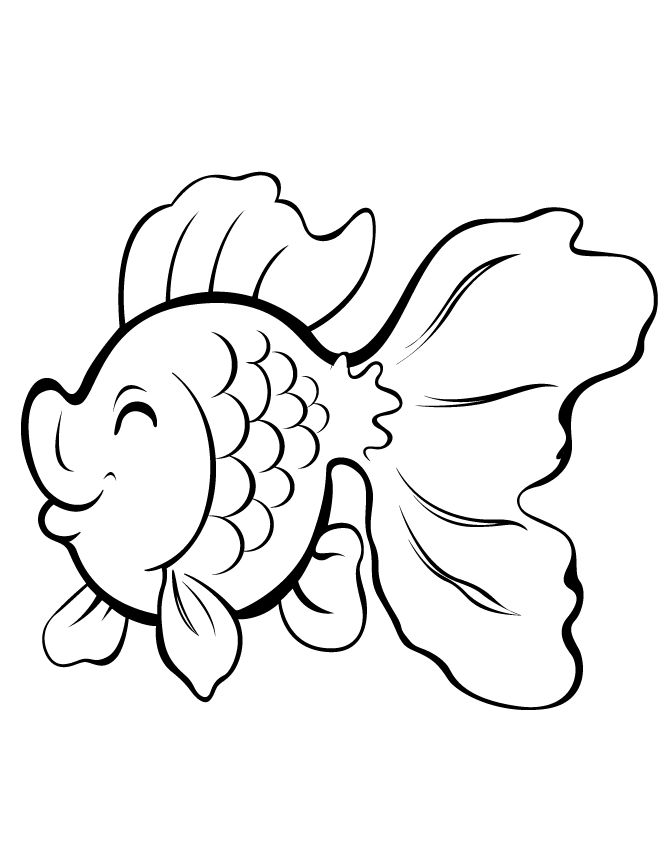 cute cartoon gold fish coloring pages printable and coloring book to print for free find more coloring pages online for kids and adults of cute cartoon