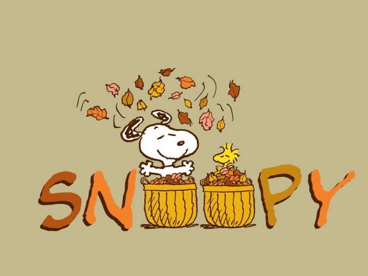 Free Happy Autumn Snoopy 2 Phone Wallpaper By Missjas Create And Share Your Own Ringtones Videos Themes Cell Wallpapers With Friends
