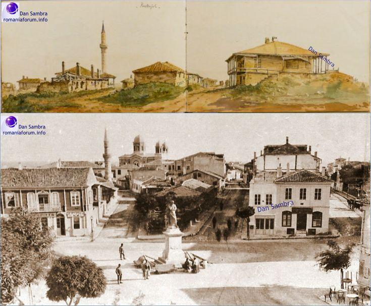 Kustendje cum s-a numit Constanta pana la 1878 . Incepand cu anii 1837-1839, s-au facut mai multe ridicari topografice ale partii din ...