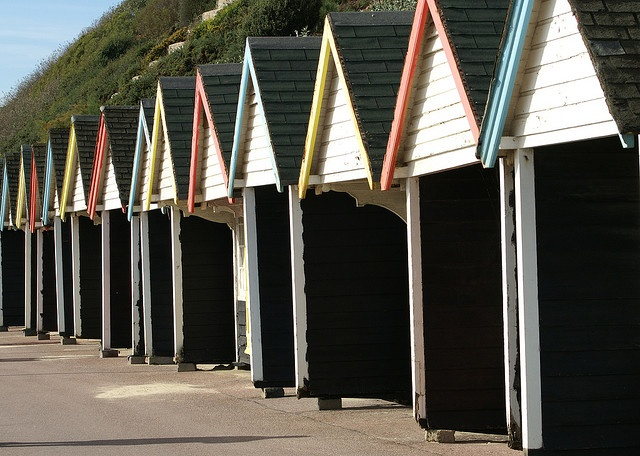 Beach Huts Bournemouth Beach Beach Hut British Beaches