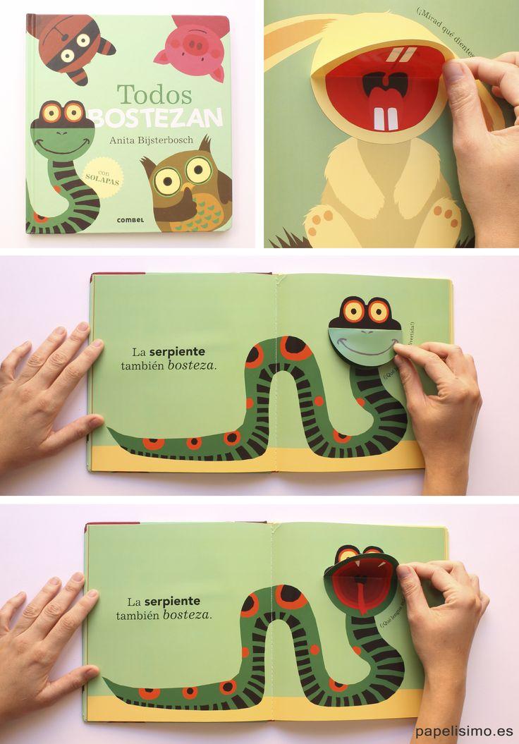 Libros de animales para niños Todos bostezan