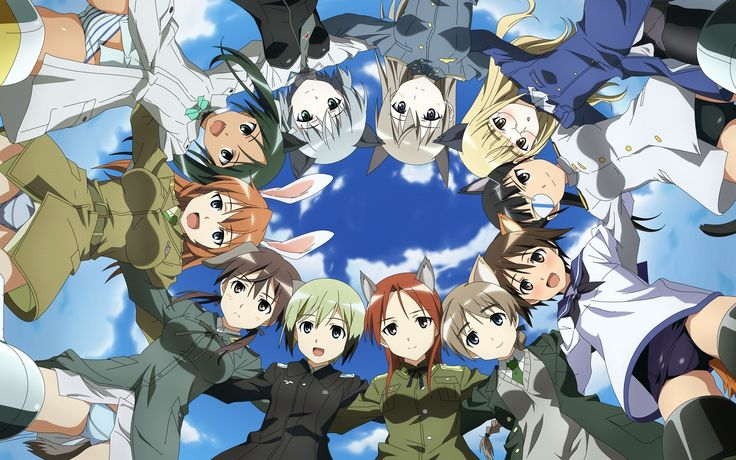 Beautiful strike witches