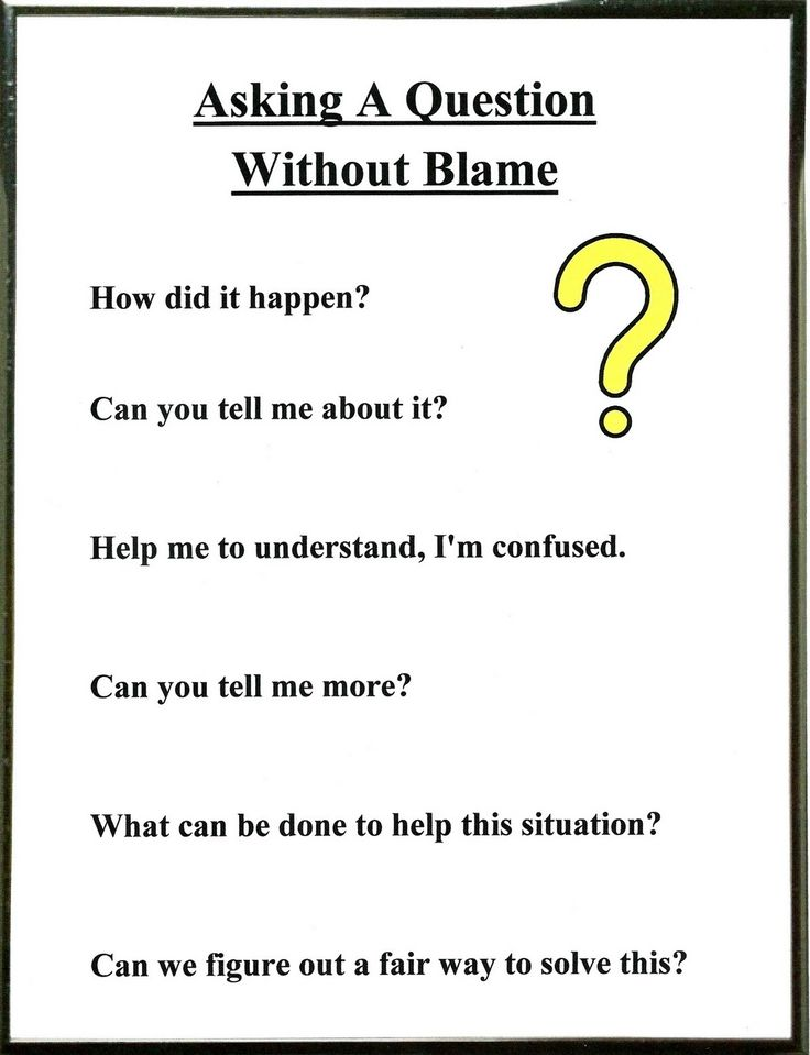 Lorinda-Character Education: Asking a Question without Blaming