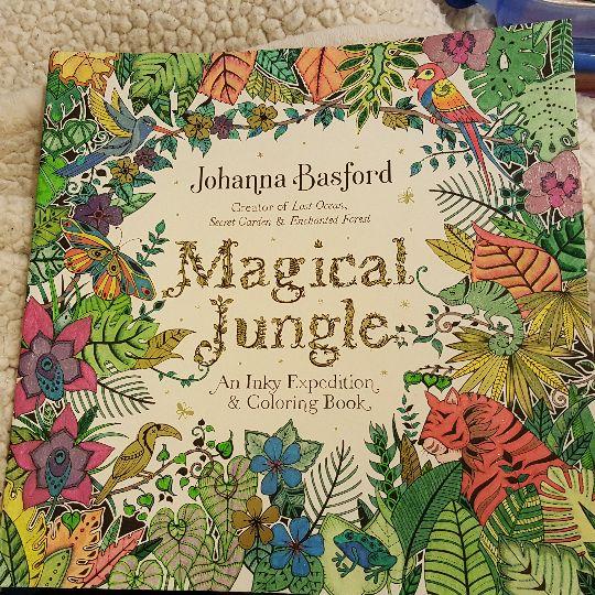 35 Best J Basford Titelseite Magical Jungle Images On