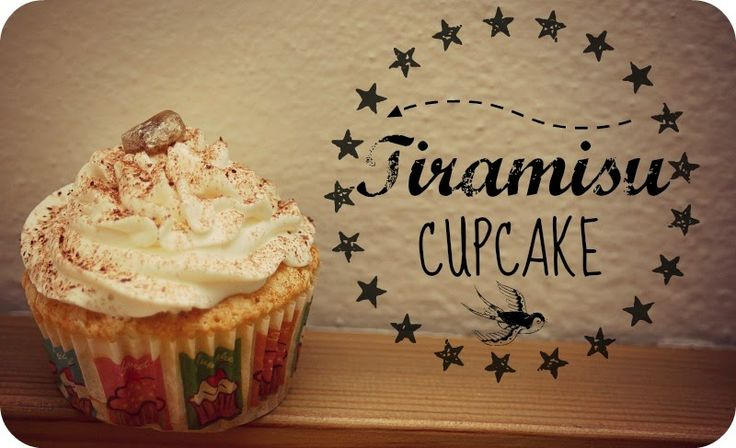 Tiramisu jako cupcakes?  Ano, i tohle je možné. Nemůžete čekat, že cupcakes  budou chutnat přímo jako pravé tiramisu , ale chutí a použ...