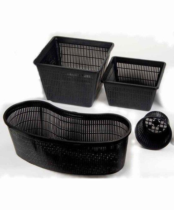 Plant Basket plastic  Deze Plant Baskets zijn gemaakt van fijnmazig en zeer duurzaam materiaal. Ze zijn verkrijgbaar in meerdere formaten. Door de flexibiliteit van het materiaal zijn de Plant Baskets stabiel te plaatsen op vrijwel iedere ondergrond. Ze voorkomen het woekeren van de wortels van de waterplanten.  EUR 2.99  Meer informatie