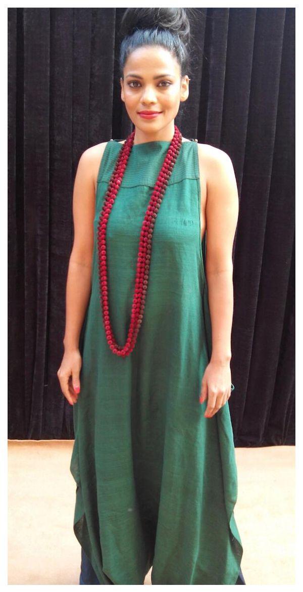 Priyanka Bose in payalkhandwala  Silk Jumpsuit and Pyjama