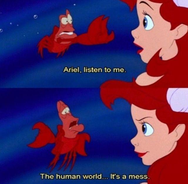Little mermaid sebastian, The little mermaid and Under the