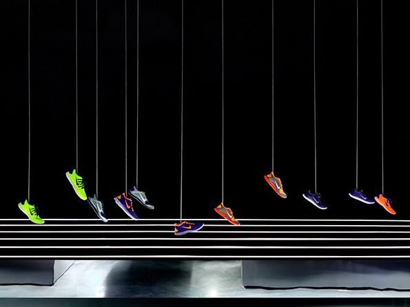 Nike with Studio-at-Large for their Nike Free retail space in Beijing.