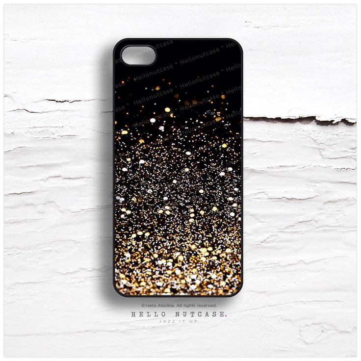 iPhone 6 Case Black, iPhone 5C Case Glitter Texture Print, iPhone 5s Case Golden Glitter iPhone 5 Case, Glitter iPhone Case iPhone Cover N14 by HelloNutcase on Etsy https://www.etsy.com/listing/195385157/iphone-6-case-black-iphone-5c-case