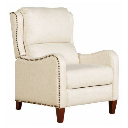 Barcalounger Addison Recliner in Fabric - Recliners at Hayneedle