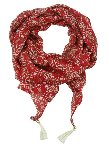Mexican Party Scarf $59.95 #leethal #accessories #fashion