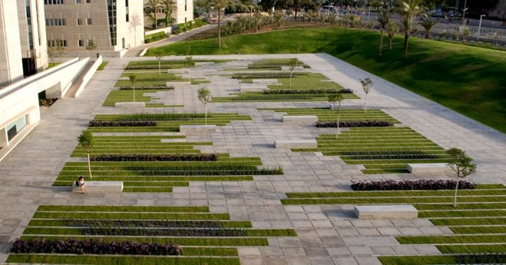 University Square, Beersheba, IsraelPublic Spaces, Squares, Pave Pattern, Modern Architecture, Chyutin Architects, Landscapes Architecture, Outdoor Design, Architecture Design, Modern Design
