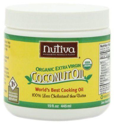 Nutiva Organic Extra Virgin Coconut Oil Deal
