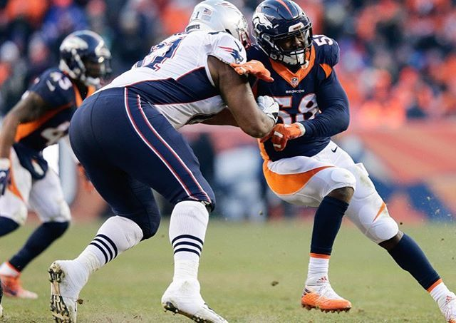 Marcus Cannon had an exceptional game last Sunday vs Denver. He went up against Von Miller and didn't let a sack nor a hit on Brady. Cannon went 14/14 in pass blocking... Glad we gave this guy a contract extension! @marcuscannon61 ⚡️