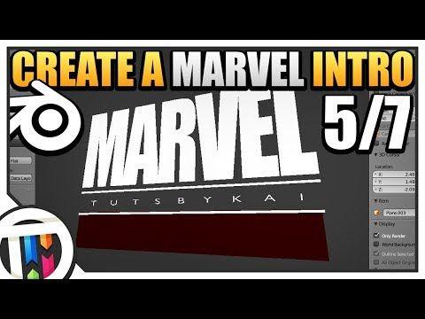 Create a Marvel Intro - Blender Tutorial on TutsByKai - 5/7