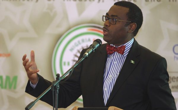 """The President of African Development Bank (AfDB), Dr. Akinwumi Adesina, said that the bank would make agriculture a profitable business venture and develop 10,000 young agricultural entrepreneurs per country in the next 10 years. Adesina said this at the 2017 World Food Day celebration with the theme: """"change the future of migration; Invest in food security and rural development' in Des Moines, Iowa, United States, on Monday."""