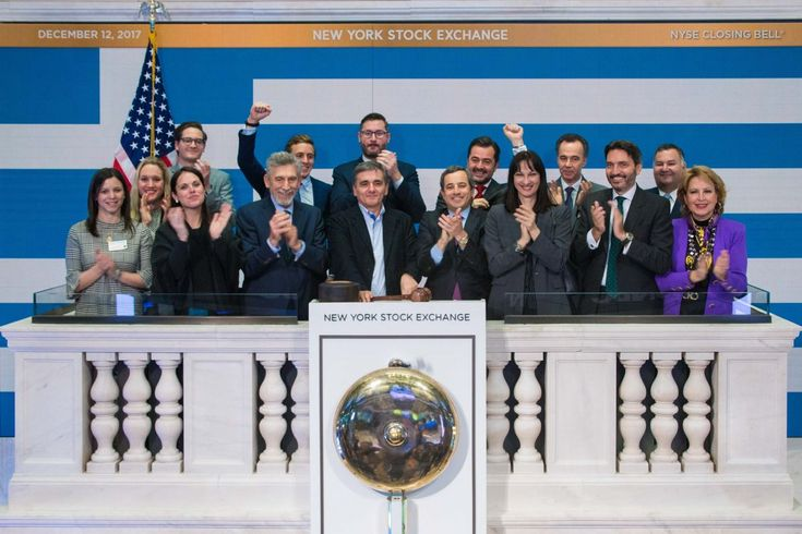 'Greek Day' at New York Stock Exchange