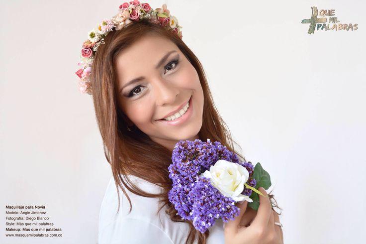 Bride makeup - wedding