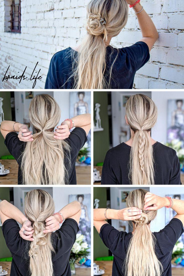 Einfache Sommerfrisur Anleitung in Bildern – Frisuren – LIEBLINGE • braids.life
