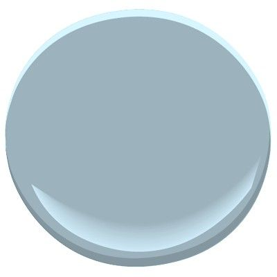 office slate blue - BM also look at silvery gray / outlook gray paler for bath/hallway