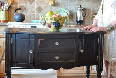 Cece caldwell paint in beckley coal cececaldwellspaints for Cece caldwell kitchen cabinets