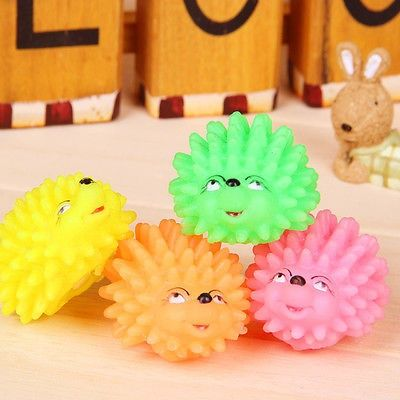 cool Funny Hedgehog Shape Pet Dog Puppy Squeaky Squeaker Ball Funny Chew Toy - For Sale Check more at http://shipperscentral.com/wp/product/funny-hedgehog-shape-pet-dog-puppy-squeaky-squeaker-ball-funny-chew-toy-for-sale/