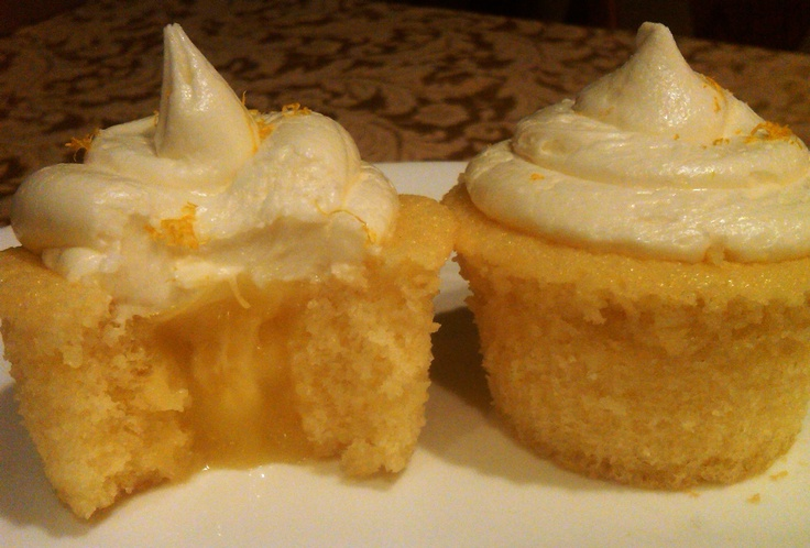 If you like lemon...you will love our new cupcake flavor called Lemon Pie.  They have lemon filling, Vanilla cake and Cream Cheese frosting.  Yumm!