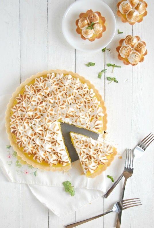 Lemon Meringue Shortbread Tartlets - The Kitchen McCabe