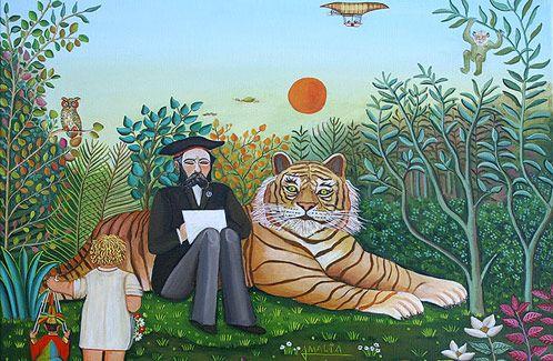 Madrid descubre el arte naïf europeo y homenajea a Rousseau. Noticias de Cultura