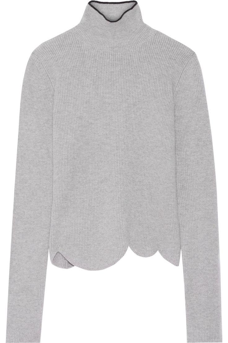 Marni | Ribbed wool-blend turtleneck sweater | NET-A-PORTER.COM