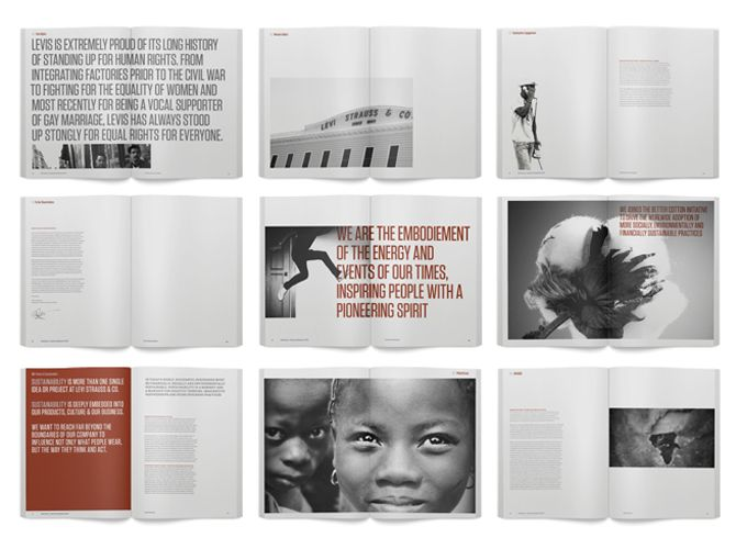 Levis CSR Report - Kristopher Leigh Design