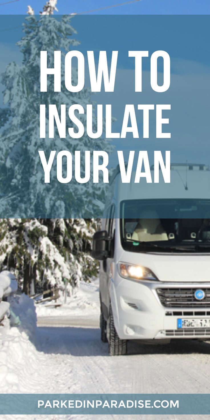 I had no idea no there so many different ways to insulate a campervan! There's some great vanlife hacks inside