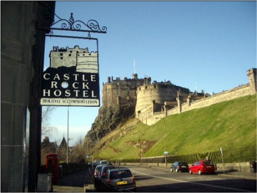 Castle Rock Hostel in Edinburgh, Scotland - $21