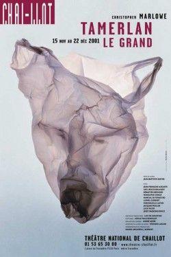 Michel-Batory,-Tamerlan-le-Grand,-Théâtre-national-de-Chaillot-,-affiche,-2001