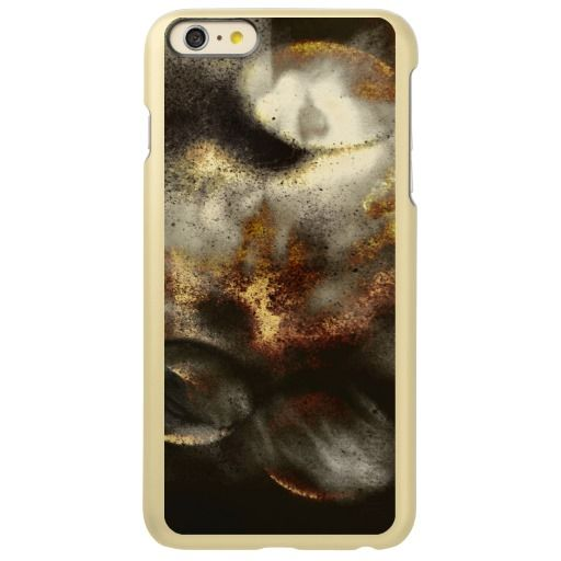 Gold and Silver Star Dust Effect / Incipio Feather Shine iPhone 6 Plus Case, in GOLD color! #fomadesign