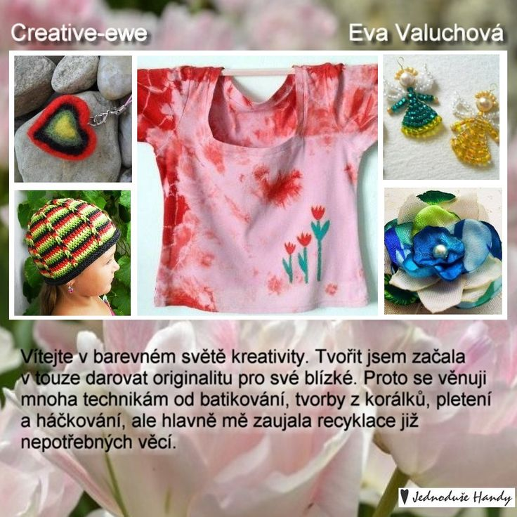 http://www.fler.cz/creative-ewe http://www.potvor.cz/natynka/ http://www.merkada.cz/prodejce/ewulka/ https://www.facebook.com/pages/Creative-EWE/109493662456198?ref_type=bookmark
