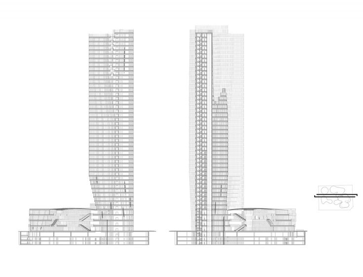architectural drawings of skyscrapers. Gallery Of Urban Systems Office\u0027s Bundle Tower Reimagines The Bank China - 9. Section DrawingThe TowerArchitecture Architectural Drawings Skyscrapers