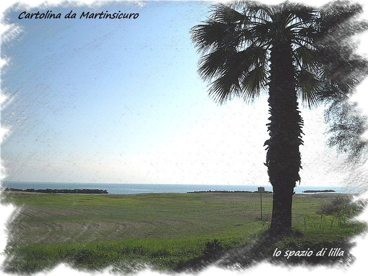 A postcard from Martinsicuro in November...