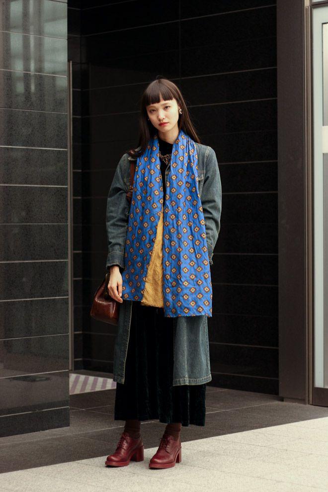 ストリートスナップ渋谷 - 萬波 ユカさん | Fashionsnap.com