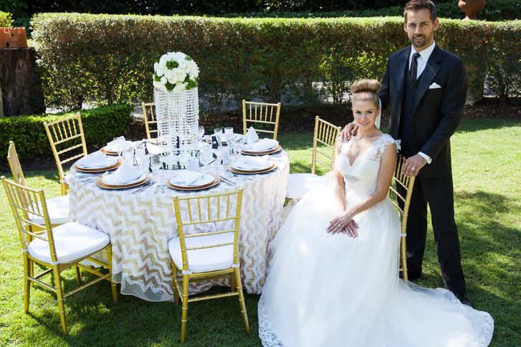 Elegance & Sophistication | Gold Wedding Scheme | Outdoor Garden Wedding | Evergreen Garden Venue | Styled by Sugar and Spice Events | Infinity Faith Photography