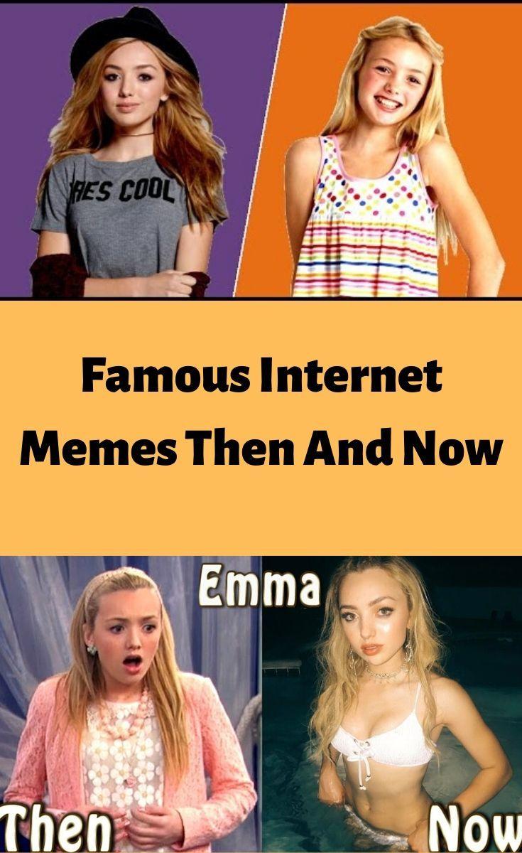 Famous Internet Memes Then And Now March Famous Memes