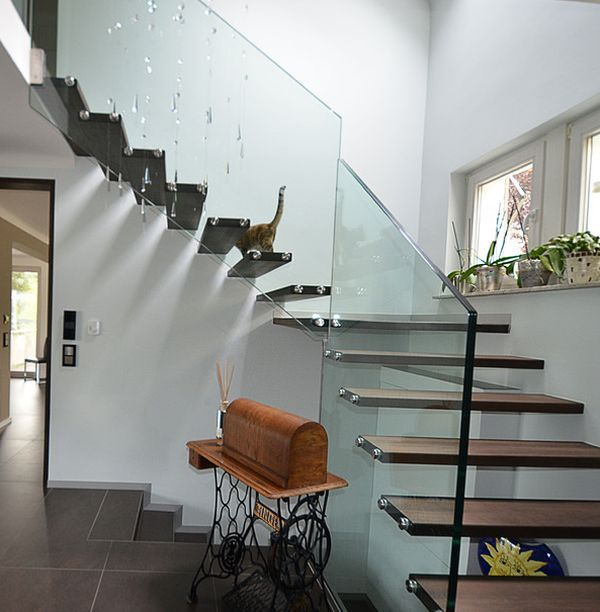 Suspended Style 32 Floating Staircase Ideas For The: 181 Best Images About Architecture And Design On Pinterest