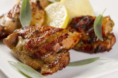 Teriyaki Chicken Thighs is a Simple and Flavorful Grilled Entree Recipe