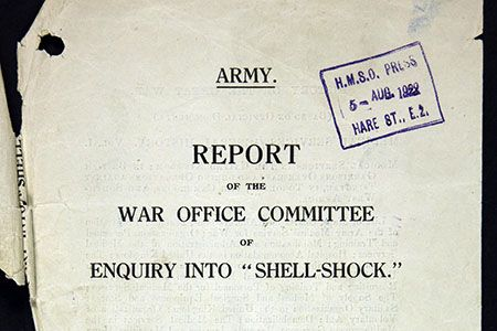 Shell-shock/PTSD was known about 2,000 years ago. This is a podcast.