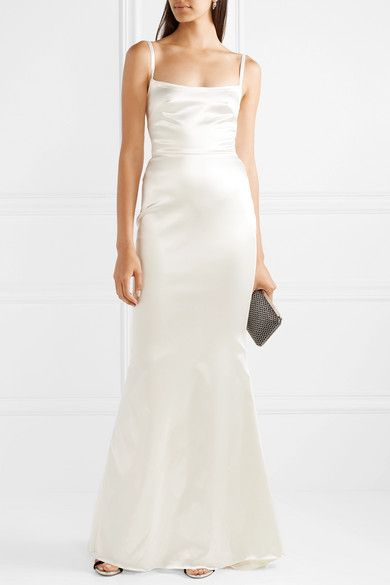 0dbb7e5285 Halfpenny London - Dion stretch-duchesse satin gown in 2019 | To Be ...