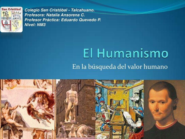 El humanismo by clio1418 via slideshare