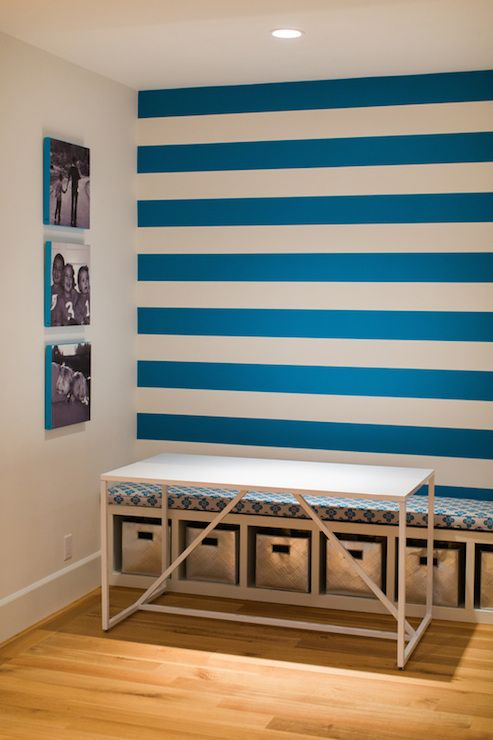 Die besten 25+ blau gestreiften Wände Ideen auf Pinterest - gestreifte grne wnde